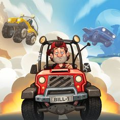 The developers of awesome games from the north of Finland. We made the Hill Climb Racing series and more! Awesome Games, Best Games, Fun Games, Hill Climb Racing, Finland, Climbing, Monster Trucks, Product Launch, Cool Games