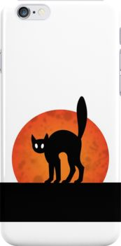HALLOWEEN CAT | iPhone case by milalala