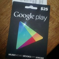 Google lay Gift Cards