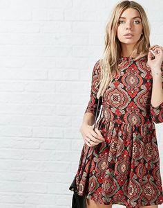 #ARKLOVES folk style prints for AW15 - the Glamorous Karly Folk Dress