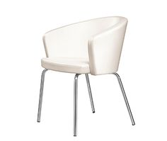 166, Kicca, steel, armchair