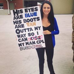 Homecoming sign... Military Homecoming Signs, Homecoming Posters, Homecoming Pictures, Marine Homecoming, Homecoming Dresses, Proud Navy Girlfriend, Military Girlfriend, Military Love, Army Boyfriend