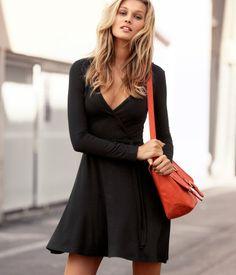 Black Jersey Dress.