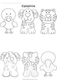 Finger Puppet Patterns, Creative Kids Rooms, Animal Templates, Happy Birthday Flower, Doodle Designs, Sewing Art, Animal Crafts, Felt Animals, Craft Patterns