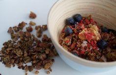 Lækker og sund start på morgenen med sukkerfri hjememlavet Granola