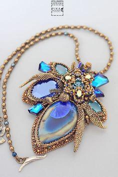 Seed Bead Necklace, Seed Bead Jewelry, Beaded Earrings, Jewelry Art, Beaded Jewelry, Jewelry Design, Beaded Bracelets, Jewellery, Crochet Video