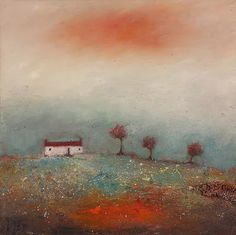 Limited Edition Giclee Print By Northeast Artist - Lisa House Mount included. Hope Art, Cherry Tree, North Yorkshire, Landscape Paintings, Giclee Print, Abstract Art, Greeting Cards, Prints, Artist