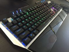 Introduction of HAVIT HV-KB378L Mechanical Keyboard (Multiple Photos)