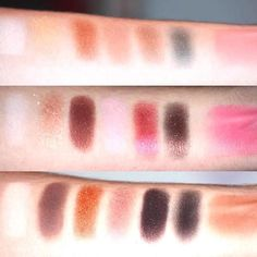 Swatch Grande Hotel Cafe Too Faced  #toofaced #grandehotelcafe #swatch #makeup