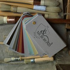 boutique paint lines from down under ... Murobon Society Inc. Color Deck | Remodelista