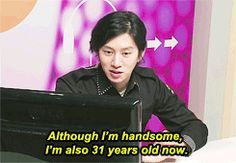 Heechul (Super Junior), a man who won't be on the market much longer. The clock is ticking down who will the real lucky lady be?......Hope for her sake she's close to his idea type....Poor Heechul:)