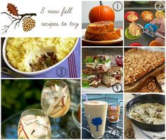 8 Fall Recipes I Can't Wait to Try! 8 Favorite Fall Recipes! #fall #recipes #fallrecipes #pumpkinrecipes #pierecipes #comfortfood