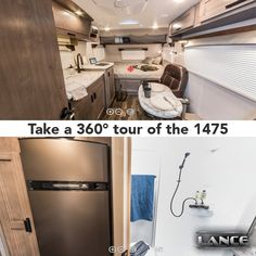 The 1475 travel trailer is the perfect couple's travel trailer. Learn all this trailer can do for you here! Lance Campers, Truck Camper, Travel Trailers, Travel Couple, French Door Refrigerator, Trucks, Home, Caravan, Camper Trailers