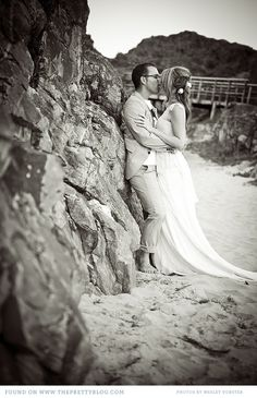 Beach Wedding: Id love a shot like this.maybe under the pier? Engagement Photography, Photography Poses, Wedding Photography, Wedding Pics, Wedding Day, Picture Ideas, Photo Ideas, La Jolla, Wedding Dreams