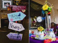 Bridal Shower Themes - Bridal Showers   Wedding Planning, Ideas & Etiquette   Bridal Guide Magazine - love the mad hatter tea party idea