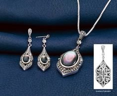 - Marcasite and Mother-of-Pearl Jewelry