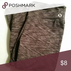 SALE Workout Capris In good condition. The only sign of wear is the brand symbol on the pant (shown in the picture). These are super comfy! Pants Capris