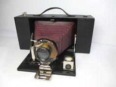 Antique Kodak No 3A Folding Brownie by UrbanRenewalDesigns on Etsy, $75.00