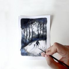 """Postcard from the forest. """"El bosque dentro de mí"""", """"The forest in me"""" Adolfo Serra."""
