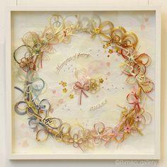 Wedding anniversary art no.2 花筏と青海波 二つ目の作品は、4月に結婚式を挙げたお友達のご祝儀袋をリメイクさせてもらいました! 桜の季節、和装でお庭を参進したときの桜がとてもきれいで、桜の花筏の景色がとても思い出に残っているとのことでした なので、水のイメージから、縁起の良い和柄の青海波を背景に、桜の花びらを沢山作って花筏のイメージで仕上げました 桜をイメージしてか、ピンク色のご祝儀袋が多かったです 今までのリメイクpicはこちら↓ #Rimiko_weddingremakeart お願い事 個人での使用目的で、デザイン案を参考にしていただくことは構いませんが、 【 参考にして作成した作品をインスタやSNSでアップ(発表)する際は、必ず私のアカウントをタグ付けして紹介 】していただきますようお願いいたします . #Rimiko #Rimiko_raptgallery #ご祝儀袋リメイク #ご祝儀袋 #御祝儀袋 #御祝儀袋リメイク #リメイク #リメイクアート #水引き #水引きアート #水引きリース ...