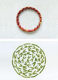 Fruit and Veg: Geometric Food Art by Sakir Gokcebag Food Art Painting, Waste Art, Toilet Paper Art, Grid Design, Design Art, Food Art For Kids, Watermelon Art, Fruit Pattern, A Level Art