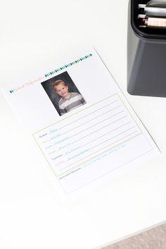 How to Organize Kids' School Papers | JustAGirlAndHerBlog.com
