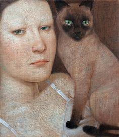 Painting by Vladimir Dunjić.