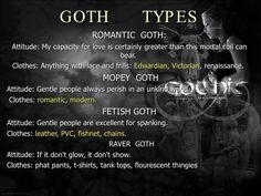 Romantic Goth, Greater Than, No Frills, Gothic, Goth, Goth Style