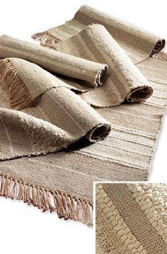 Slubweave Cotton Rug 105 x > Cotton Slubweave Rugs > Home Furnishings > Namaste Fair Trade > Namaste-UK Ltd Asian Rugs, Chinese Furniture, Bold Prints, Woven Rug, Dark Wood, Kilim Rugs, Family Room, Weaving, Pattern