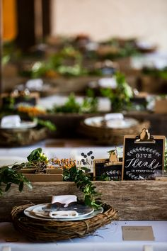 From magnoliahomes.net. The Fall_Workshop_020 from Chip and Joanna Gaines, from HGTV's Fixer Upper. I love this tablescape!