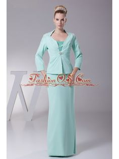 Apple Green Chiffon Mother Of The Bride Dress New Style Custom Made- $137.59  http://www.fashionos.com  bridesmaid dresses that are different | impressions mother dresses | where can i find mother of the bride dresses | customized bridesmaid dresses | match any wedding theme mother dress | fashionable bridesmaid dress | sister of the bride dresses | trendy prom dresses | floor length mother of the bride dress | plus size mother dresses