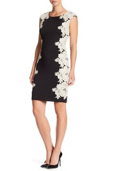 Embroidered Side Sleeveless Dress by Sangria on @HauteLook