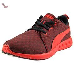 Puma Carson Runner 400 Jr Cube Jeunesse US 4 Rouge Chaussure de Course - Chaussures puma (*Partner-Link)