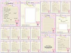 """Набор страничек """"Sweet Girl"""" формат А-5, в наборе 17 страниц. !!!!Странички ТОЛЬКО для личного пользования!!! Продажа набора ЗАПРЕЩЕНА!!! фото 1"""