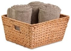 Tall Banana Leaf Basket beach-style-baskets 15x15x8