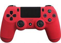 Matte-Red-Custom-PS4-Controller-Brand-New-Controller