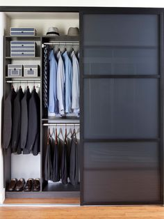 Contemporary Closet Modern Living Room Design, Pictures, Remodel, Decor and Ideas - page 15