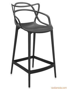 Masters stool | Tabouret Kartell en polypropylène noir