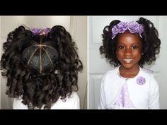 Umbrella Curls Kids Natural Hairstyles Iamawog Youtube Kids Hairstyles Easter Hairstyles Hair Styles