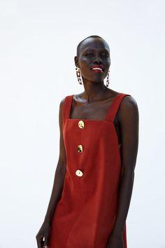 0fd9992b4a08 Εικόνα 2 του ΦΟΡΕΜΑ ΜΕ ΚΟΥΜΠΙΑ από Zara Button Dress
