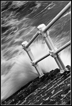 Barandilla de San Lorenzo, Fotografía Gijón (Asturias) #gijon  #asturias #cantabrico