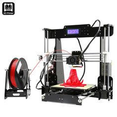 Anet A8 3D Printer Prusa i3 DIY Kit - Multiple Filament Types, Large Printing Volume, 0.004mm Precision, SD Card Slot - Anet A8 3D Printer Prusa i3 DIY Kit offers an affordable way to assemble your own cheap 3D printer. Print anything you can imagine in great detail and quality.