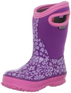 fcc00d04482b Bogs Classic Sprout Waterproof Boot (Toddler Little Kid Big Kid) Bogs.