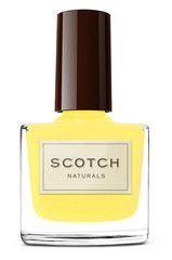 Scotch Naturals nail polish in Lemon Highlander
