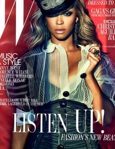 Beyonce covers W Magazine...Loving this look!