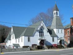 Trinity Episcopal Church, Thomaston, CT. Most probably the church of the two generations before my grandmother.