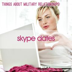 Things About Military Relationships #4 (www.facebook.com/weheartcamo)
