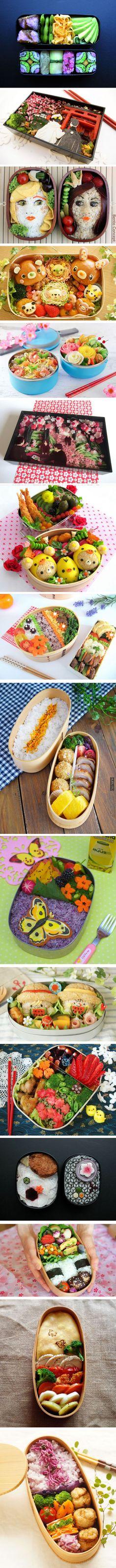 САМОЕ ИНТЕРЕСНОЕ В ИНТЕРНЕТЕ: Как японцы упаковывают еду: шедевры кулинарии