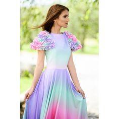 rochie de ocazie lungă, material elastic, volane pe mâneci One Shoulder, Formal Dresses, Fashion, Dresses For Formal, Moda, Formal Gowns, Fashion Styles, Formal Dress, Gowns