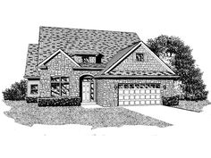 The Stonebridge Elevation B  | Phillippe Builders
